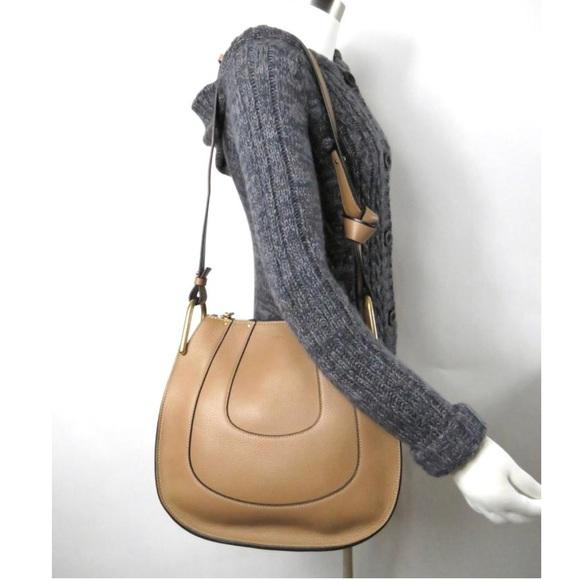 1bedd938 Small Hayley' Leather Hobo Bag CHLOÉ